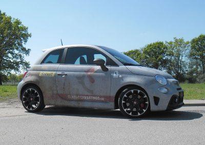 Fiat 500 carwrap