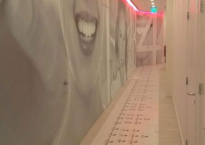 Wachtruimte kliniek voor mondzorg