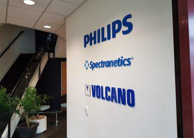 Philips gevelreclame