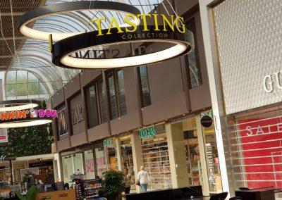 rvmreclame Tasting custom logo lichtletters retail