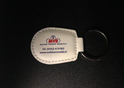Sleutelhanger MVB Machine Verhuur Barneveld