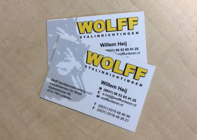 Visitekaartjes Wolf Oil