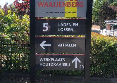 Waaijenberg Timmerfabriek & houtdraaierij zuil