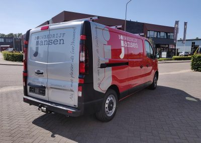 Bouwbedrijf Jansen renault traffic