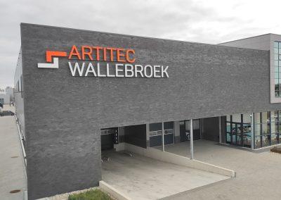 Artitec Wallebroek - gevelreclame