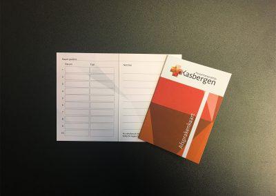 Huisartspraktijk Kasbergen - afspraken kaart