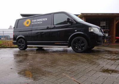 Van ommeren bestratingen - Volkswagen Transporter