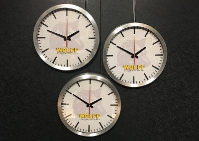 Wolf stalinrichtingen - klokken