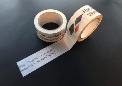 Hardeman vloerbewerking - Tape