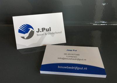 J. Pul - Visitekaartjes