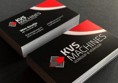 KVS Machines - Visitekaartjes