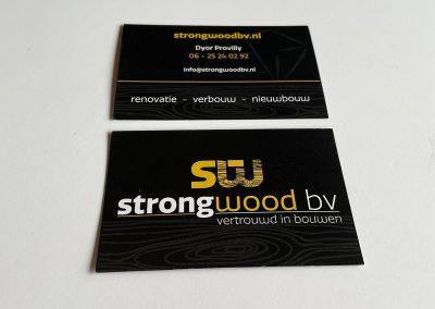 Strongwood - Visitekaartjes